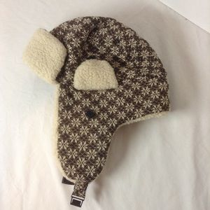 Winter hat with flaps